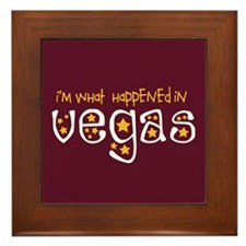 I'm What Happened In Vegas Framed Tile