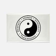 Respect Honor Integrity TKD Rectangle Magnet