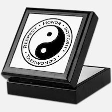 Respect Honor Integrity TKD Keepsake Box