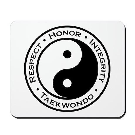 Respect Honor Integrity TKD Mousepad