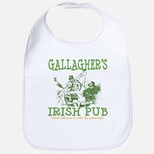 Gallagher's Vintage Irish Pub Personalized Bib
