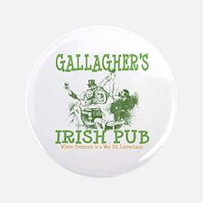 "Gallagher's Vintage Irish Pub Personalized 3.5"" Bu"
