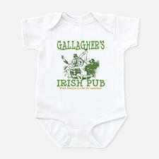 Gallagher's Vintage Irish Pub Personalized Infant