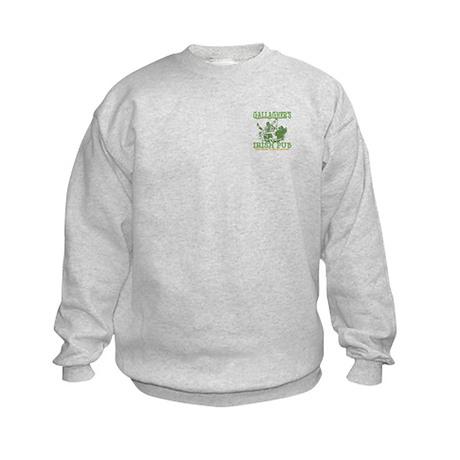 Two Sides Printed Kids Sweatshirt