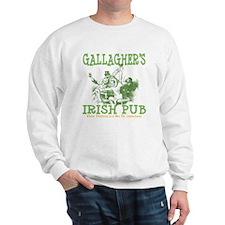 Gallagher's Vintage Irish Pub Personalized Sweatsh