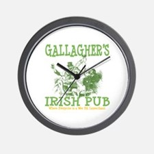 Gallagher's Vintage Irish Pub Personalized Wall Cl