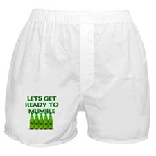 Let's Get Ready To Mumble Boxer Shorts