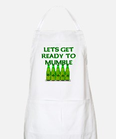 Let's Get Ready To Mumble BBQ Apron