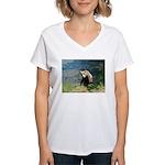 Alaska Scene 23 Women's V-Neck T-Shirt