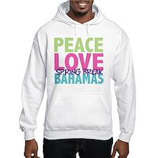 Peace Love Spring Break Bahamas Hoodie