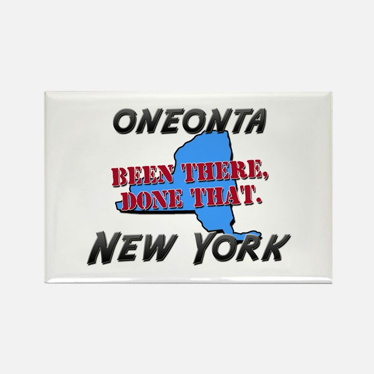 oneonta new york - been there, done that Rectangle