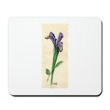 Iris Watercolor Mousepad