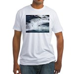 Alaska Scene 22 Fitted T-Shirt