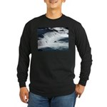 Alaska Scene 22 Long Sleeve Dark T-Shirt