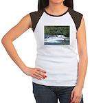 Alaska Scene 21 Women's Cap Sleeve T-Shirt