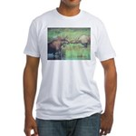 Alaska Scene 20 Fitted T-Shirt
