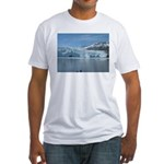 Alaska Scene 18 Fitted T-Shirt