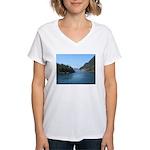 Alaska Scene 17 Women's V-Neck T-Shirt
