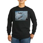 Alaska Scene 16 Long Sleeve Dark T-Shirt