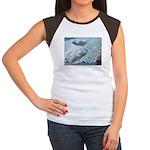 Alaska Scene 16 Women's Cap Sleeve T-Shirt