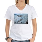Alaska Scene 16 Women's V-Neck T-Shirt