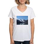 Alaska Scene 15 Women's V-Neck T-Shirt