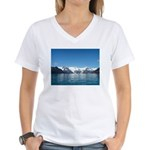Alaska Scene 14 Women's V-Neck T-Shirt