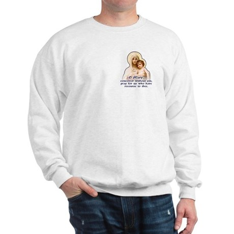 Madonna of the Roses Sweatshirt