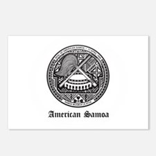 Samoan Coat of Arms Seal Postcards (Package of 8)