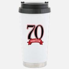 70th, 75th Birthday Stainless Steel Travel Mug