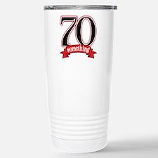 70th, 75th Birthday Travel Mug