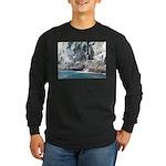 Alaska Scene 13 Long Sleeve Dark T-Shirt