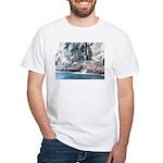 Alaska Scene 13 White T-Shirt