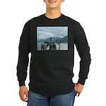 Alaska Scene 12 Long Sleeve Dark T-Shirt