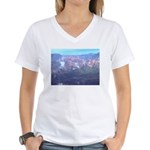 Alaska Scene 11 Women's V-Neck T-Shirt