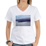 Alaska Scene 9 Women's V-Neck T-Shirt