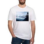 Alaska Scene 6 Fitted T-Shirt