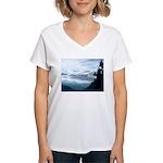 Alaska Scene 6 Women's V-Neck T-Shirt