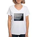 Alaska Scene 7 Women's V-Neck T-Shirt