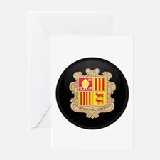 Coat of Arms of Andorra Greeting Card