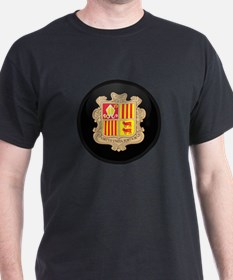 Coat of Arms of Andorra T-Shirt