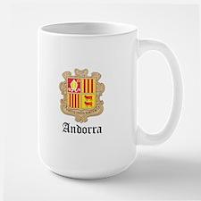 Andorran Coat of Arms Seal Mug