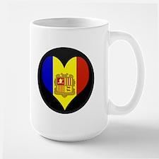 I love Andorra Flag Mug