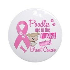 Bulldogs Against Breast Cancer 2 Ornament (Round)