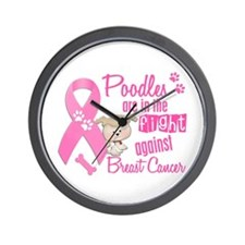 Bulldogs Against Breast Cancer 2 Wall Clock