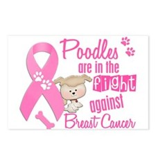 Bulldogs Against Breast Cancer 2 Postcards (Packag