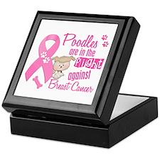Bulldogs Against Breast Cancer 2 Keepsake Box