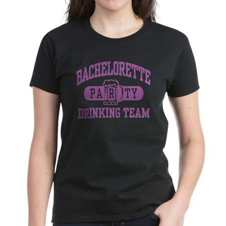 Bachelorette Party Drinking Team Women's Dark T-Sh