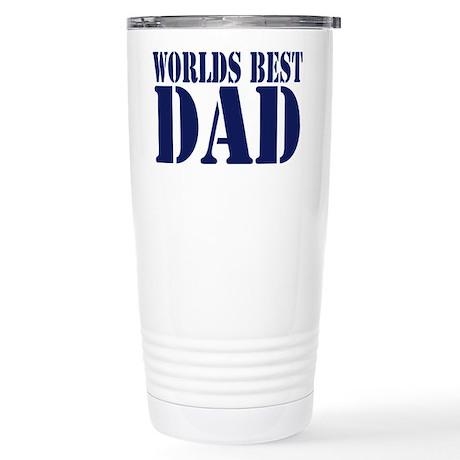 Worlds Best Dad Stainless Steel Travel Mug