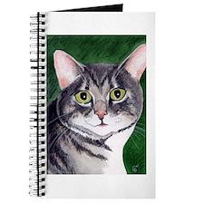 Grey Tabby Cat Journal